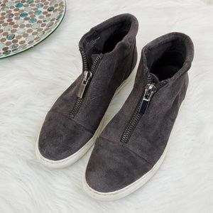 Kenneth Cole NY Shoes Suede Leather Ankle Slip On